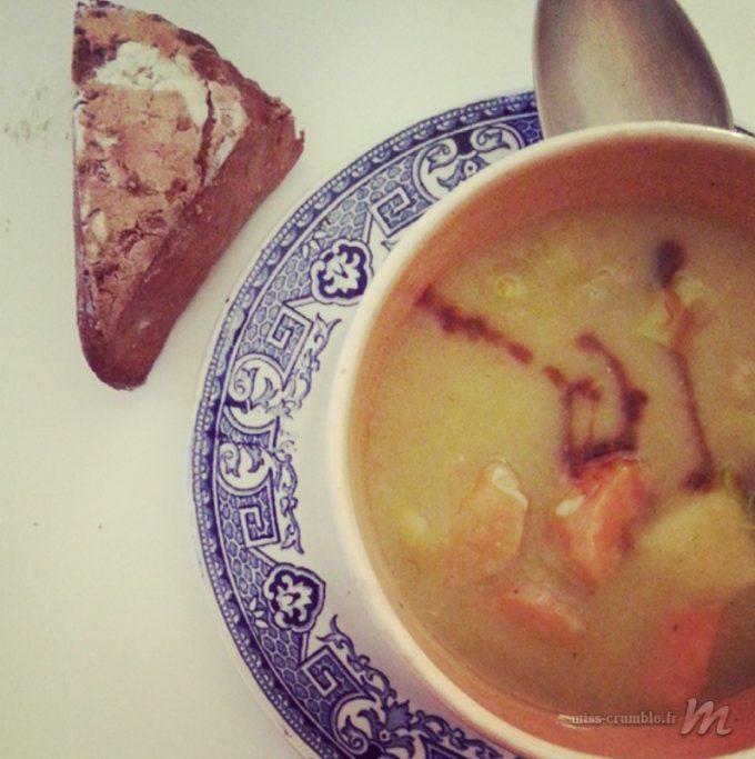 Soupe-légumes